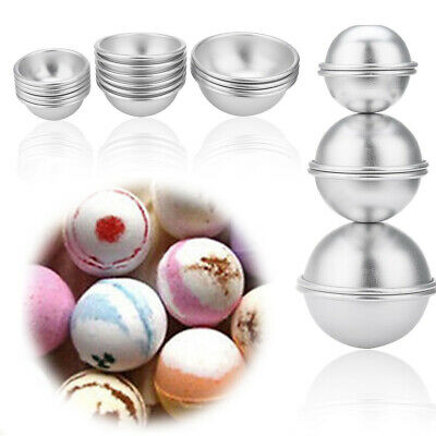 16pcs Seifenform Bath Bomb Molds DIY Bad Bombe Form 3 Größen 8 Sets Badebomben