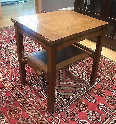 Stickley Mission Oak Butterfly Top End Table Authentic