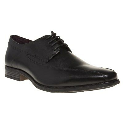 New Mens Lotus Black Holgate Leather Shoes Lace Up