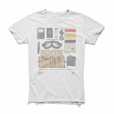 Alpinestars T-Shirt NO FRILLS TEE OFF white NEU