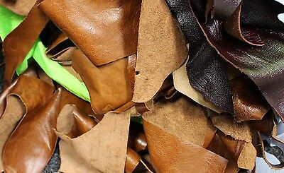 1kg Bag Of Mixed Quality Scrap Leather Arts & Crafts,Off Cuts,Remnants,Pieces