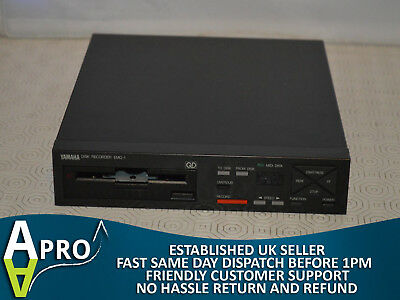 Tested & Working Yamaha Emq-1 Disk Recorder, Boxed, Great Condition - Uk Seller