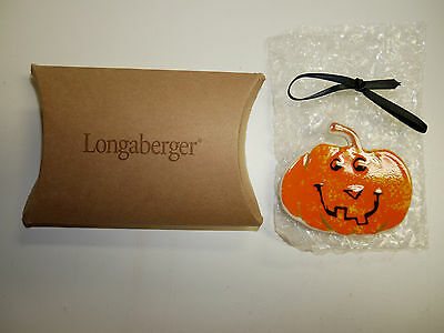 Longaberger 2004 Large Happy Halloween Tie-On/Pin  NEW in Box