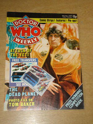 Doctor Who #4 1979 Nov 7 British Weekly Monthly Magazine Dr Who Dalek With Gift