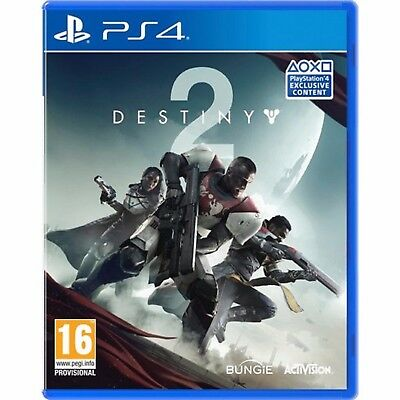Destiny 2 BRAND NEW SEALED DESTINY 2 II (PS4) PLAYSTATION 4
