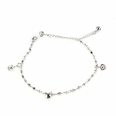 Anklet Bracelet Metal Foot Crown Bell Y4F8