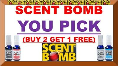 (BUY 2 GET 1 FREE) SCENT BOMB 100% Concentrated Air Freshener Spray (U-PICK) 20+