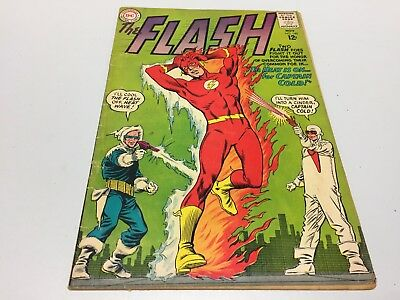 The Flash #140! DC Comics-1963! Origin/First Appearance of Heat Wave! 2.5, G+