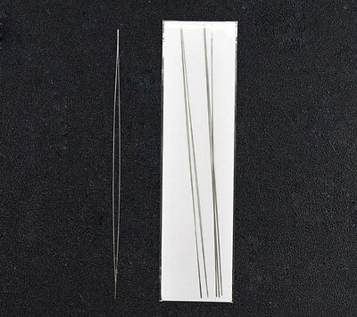 wholesale Hot Big Eye Curved Beading Needles Easy Thread 125x0.6mm