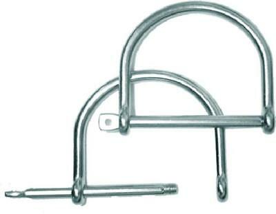 Pair of 50mm Stainless Steell Removable D Rings