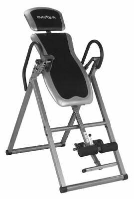 Foldable Inversion Table Fitness Back Therapy Relief Exercise Chiropractic Hang