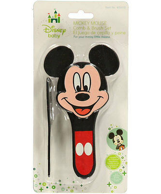 "Mickey Mouse ""Famous Mouse"" Brush & Comb Set"