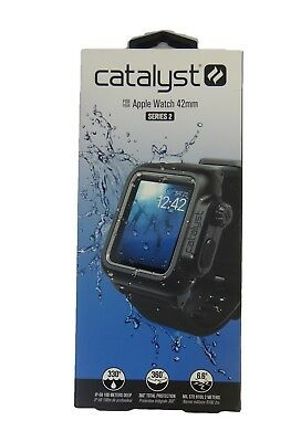 NEW Catalyst Waterproof Case and Band for Apple Watch 42mm Series 2 - Black