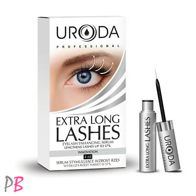 Uroda Extra Long Lashes Eyelash Enhancing Serum Eyelash Growth Up To 57%