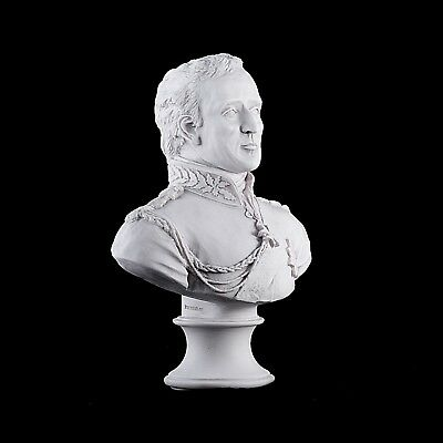Duke of Wellington, Arthur Wellesley, Classic Marble Bust, Sculpture. Art, Gift.