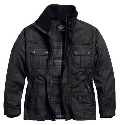 Harley-Davidson Men's Out-Of-Reach Rugged Waxed Casual Jacket 97559-16VM
