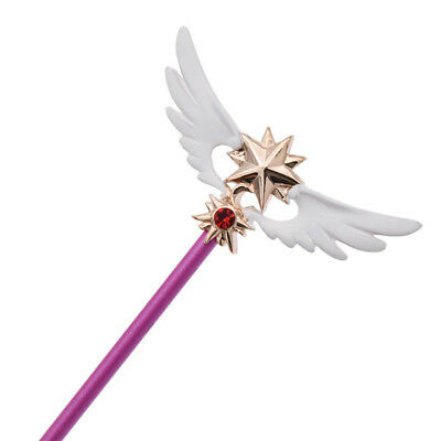 Anime Card Captor Sakura Kinomoto Wings Magic Wand Mini Cosplay Prop Cosplay