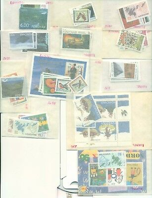 Foroyar MNH collection 1990s-2000s cat value approximately $500 almost complete