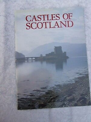 Castles Of Scotland Guide Book 33 Pages 1995