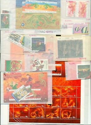 Christmas Island 1990s-2005 cat value approx $200 Mint Never Hinged VF Australia