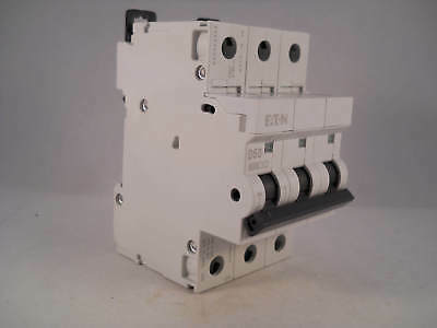 MEM MCB 50 Amp Triple Pole 3 Phase Breaker Type D 50A D50 Memshield 2 MDL350 NEW