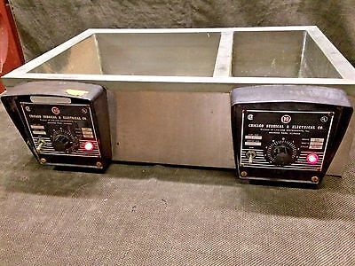 CHICAGO SURGICAL & ELECTRICAL LAB WATER BATH Model 13700