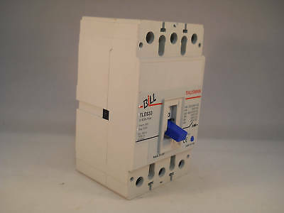 Bill MCCB 63 Amp Triple Pole 63A 3 Phase Breaker Memshield 2 MEL633 TLE633