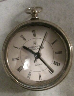 International Silver Company quatz -Clock -  pocket watch style - Large face