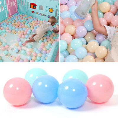 50pc/set Colorful Children Ocean Ball Swim Pit Playing Toy Baby Gift Plastic