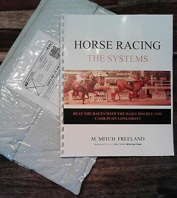 REVIEW & TEST OF: Horse Racing - The Systems by M. Mitch Freeland 11 days 3 trks