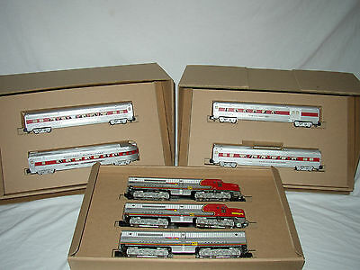 3 Level Custom Set Box Only For Sante Fe A-B-A And 4 Passenger Cars (No Trains)