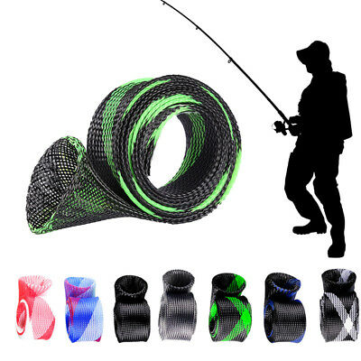 2017 Stick Skin Casting Fishing Rod Sleeve Cover Pole Sock Jacket Protector New