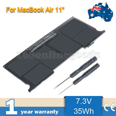 """Apple A1406 Battery For Apple Macbook Air 11"""" A1370 2011 & A1465 2012 Replace AU"""