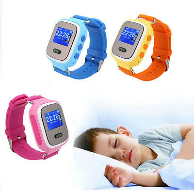 Kids Children Anti-lost LBS Tracker SOS Call Smart Watch for iOS Android Xmas