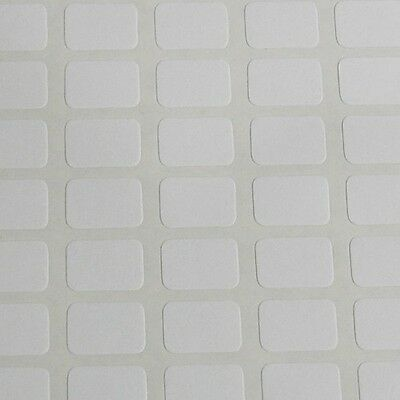 196 Small White Sticky Labels 9x13 mm Price Stickers, Tags, Blank, Self Adhesive