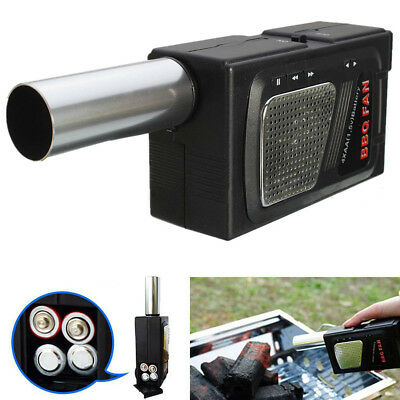 Portable Outdoor Camping Electricity BBQ Air Blower Fan For Barbecue Fire Bellow