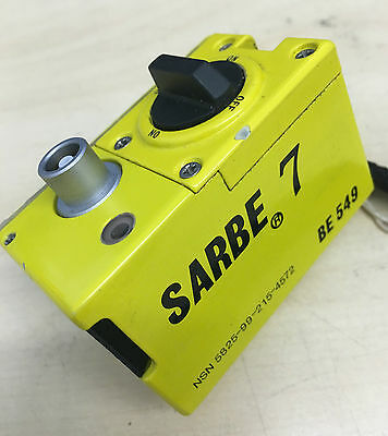 Sabre 7 Ex-Mod Personal Locator Rf Beacon Unit Be 549