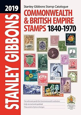 Stanley Gibbons - Commonwealth & British Empire Stamps 2019 - New - In Stock