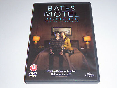 Bates Motel - The Complete First Season 1 - GENUINE UK DVD SET - 1st Series One