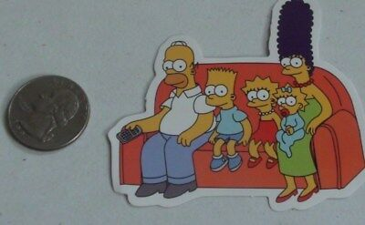 the simpsons sticker family vinyl decal bart lisa marge homer simpson skate