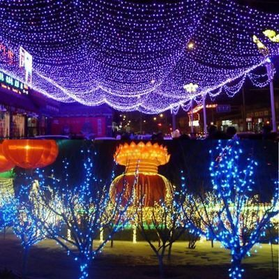 Solar Lamps LED String Halloween Xmas Fairy Lights 200 LEDs 20 Meters Outdoor