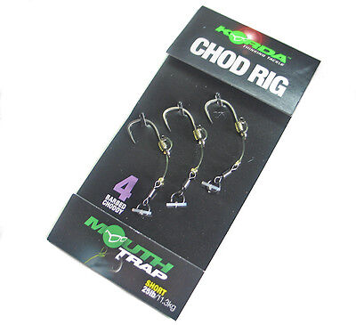 Korda Ready-Tied Chod Rigs Now In Stock