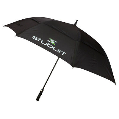 Stuburt 2017 Double Canopy Vented Golf Umbrella - Black