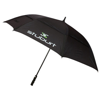 Stuburt Double Canopy Vented Golf Umbrella - Black
