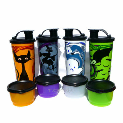 Tupperware 1 x Halloween Spooktacular Tumbler and Snack Cup Set Pick your Colour