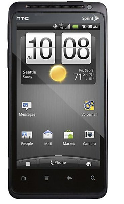 HTC EVO Design 4G  - 4GB - Black Boost Mobile, U. S. Cellular  Smartphone