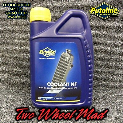 Putoline Coolant NF 1 x 1L bottles - Ready mixed formula Protects down to -38°C