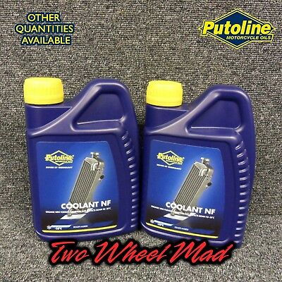 Putoline Coolant NF 2 x 1L bottles - Ready mixed formula Protects down to -38°C