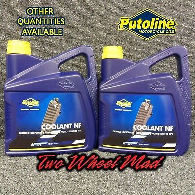 Putoline Coolant NF 2 x 4L bottles - Ready mixed formula Protects down to -38°C