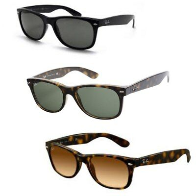 New Ray-Ban RB2132 Wayfarer Sunglasses - Choose Your Size and Color
